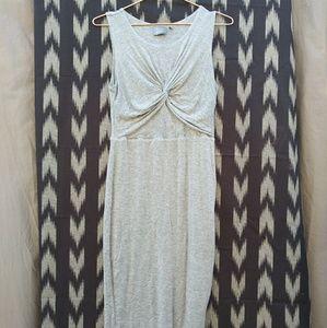 DUAL NATURE super soft gray dress
